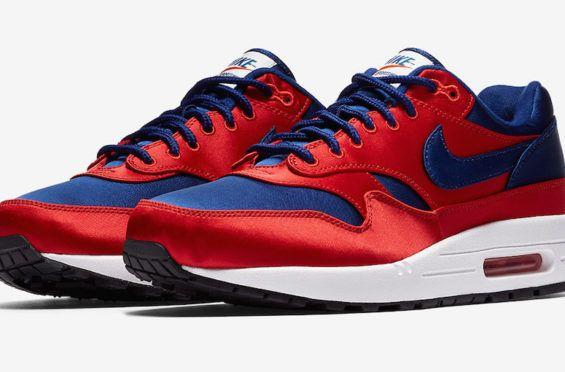 Nike Air Max 1 Just Do It White Orange Sneaker Bar Detroit