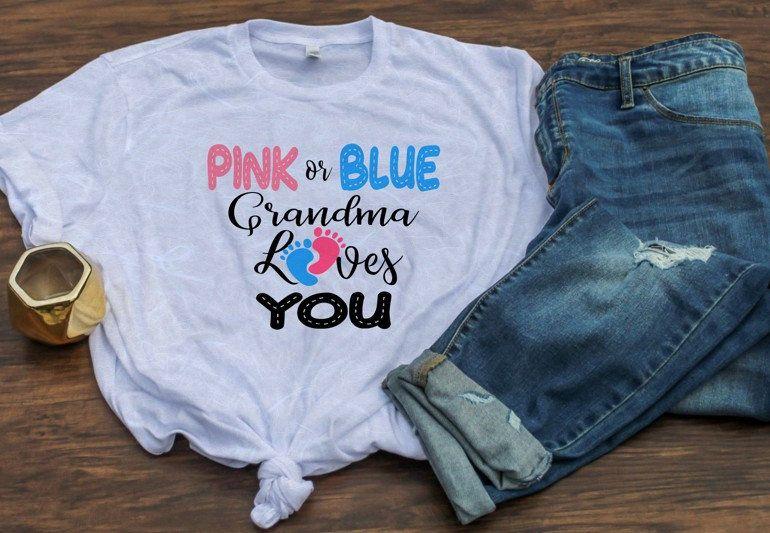 Download Pink Or Blue Baby Shower or Gender Reveal svg Includes ...