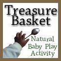 Treasure Basket baby play activity