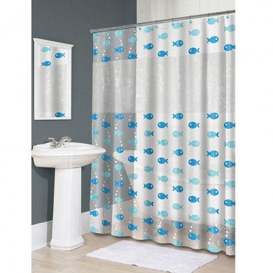3d Fish Peva Vinyl Shower Curtain Vinyl Shower Curtains Cloth Shower Curtain Plastic Shower Curtain