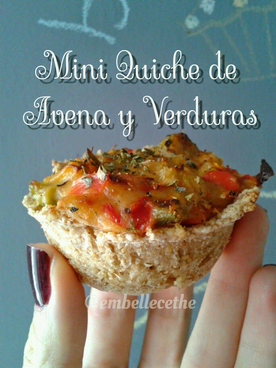 Embellecethe mini quiche vegana r pida y f cil for Quiche de verduras facil