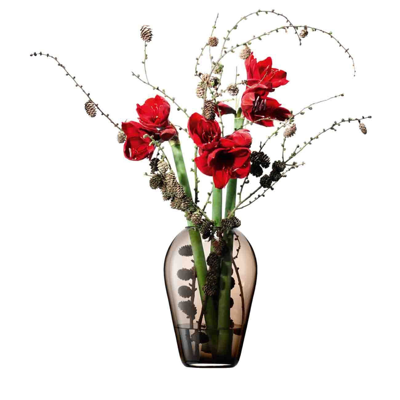 Vase, Flower Colour klassisches Bouquet, mocca By : LSA