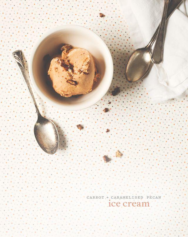 Carrotpecanicecream Frozen Eis Kuche
