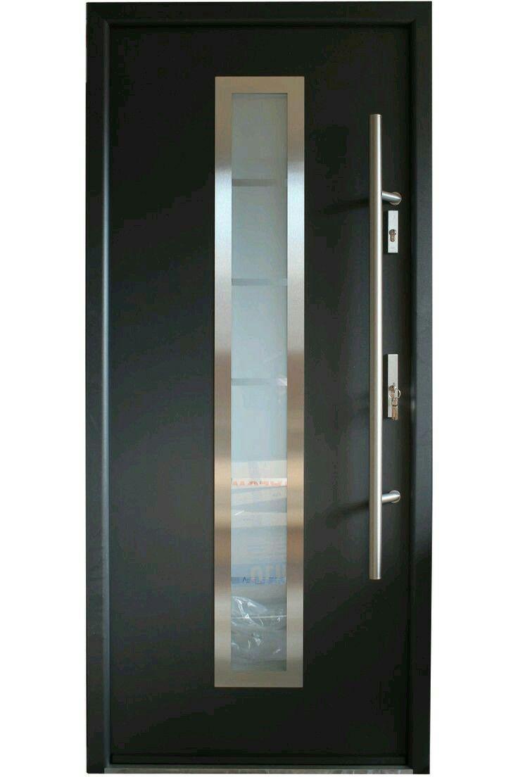 Resultado de imagen para puertas de entrada principal modernas en aluminio decoraciones de - Puertas de exterior modernas ...
