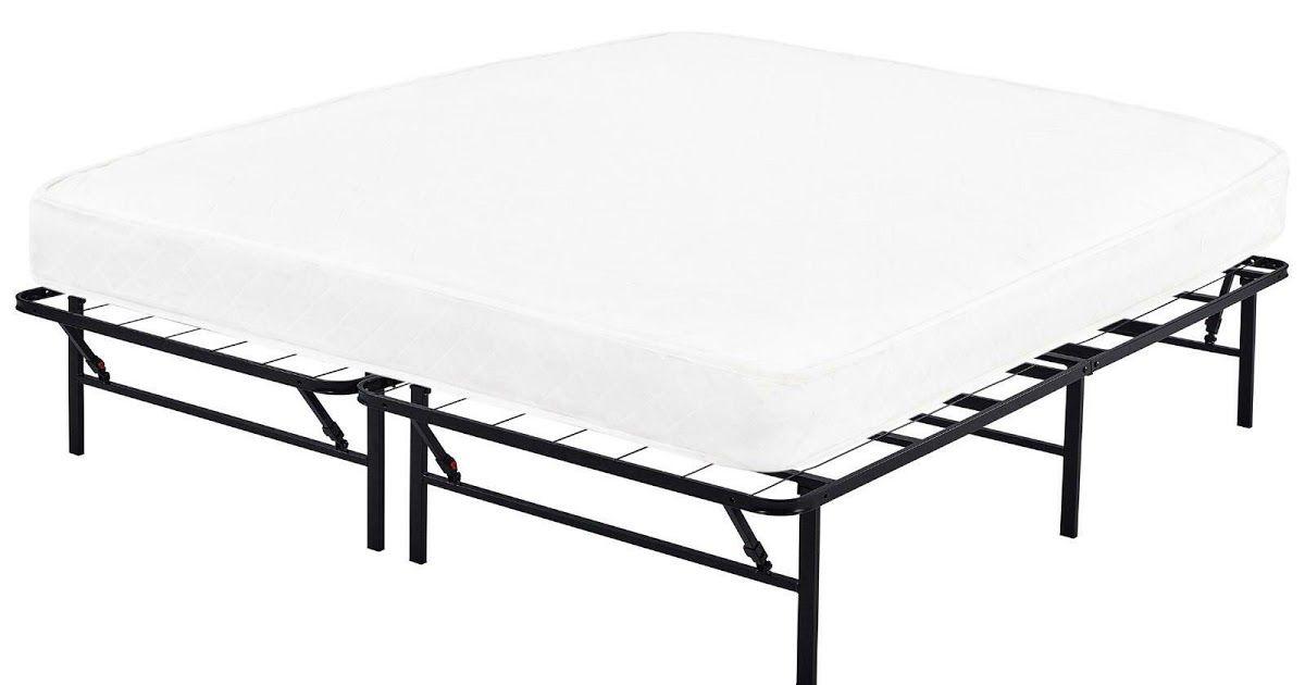 California King Size Metal Platform Bed Frame Heavy Duty Mattress