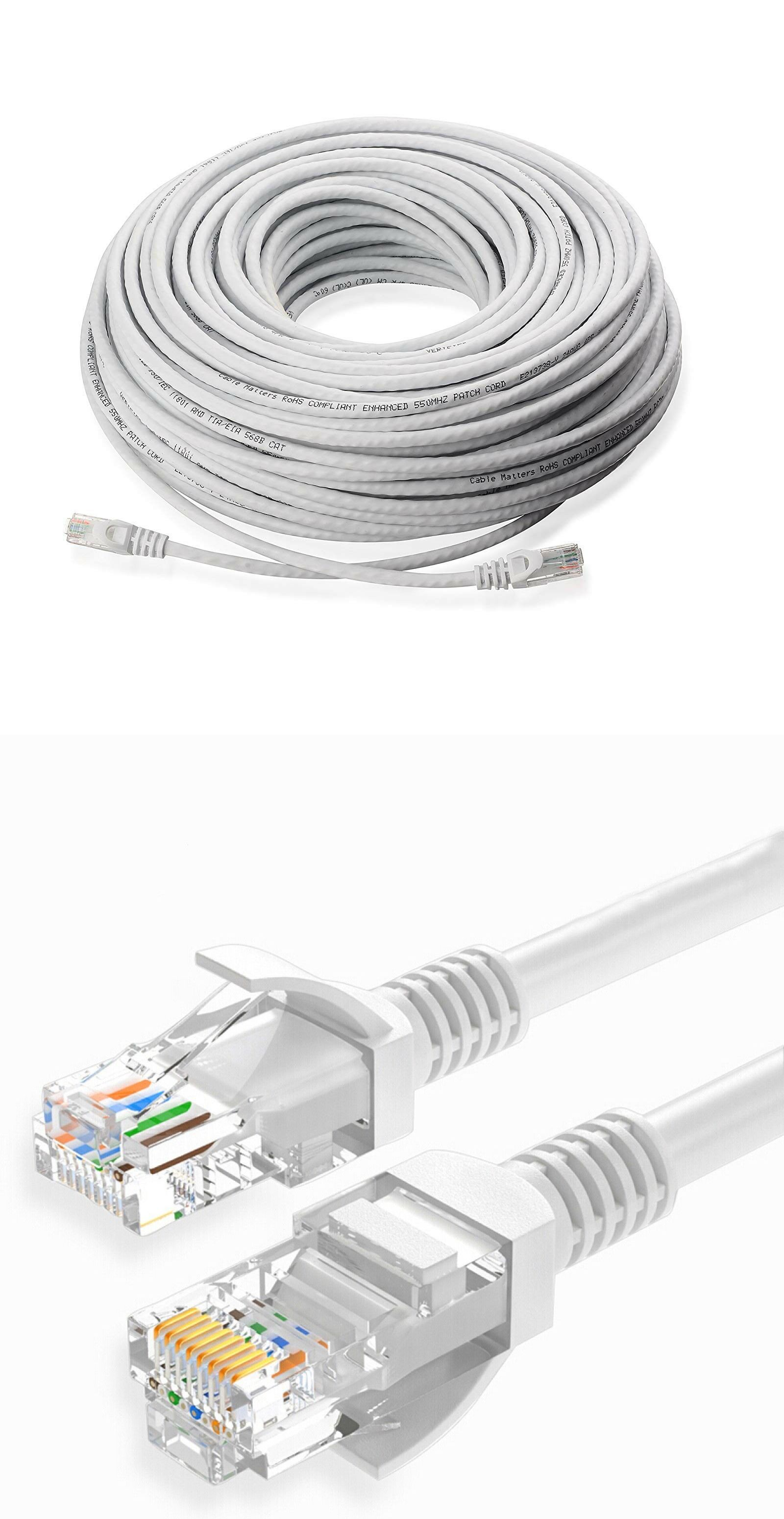 hight resolution of ethernet cables rj 45 8p8c 64035 100ft cat5e poe ip camera nvr ethernet cable