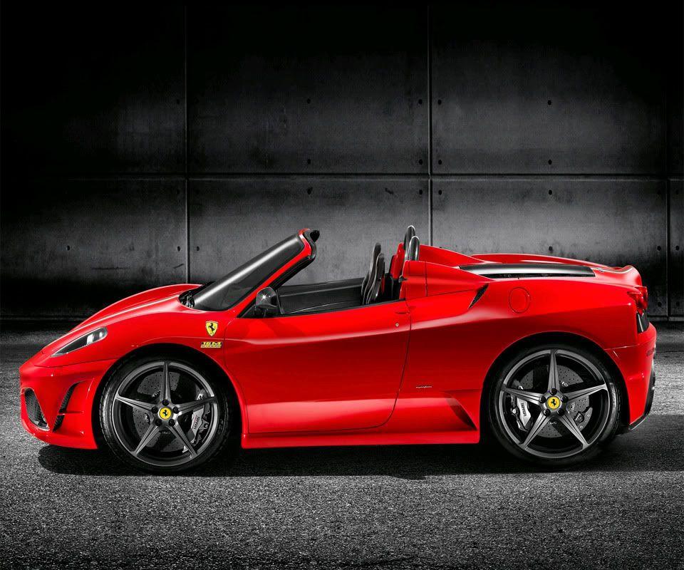 This Is A Stunning 2009 Ferrari 430 Scuderia In Bianco Avus