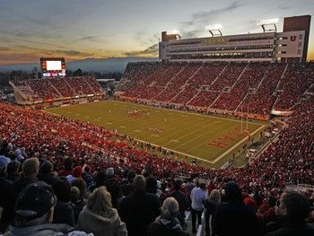Rice Eccles Stadium At The University Of Utah Watched The Stones Play There Years Ago The University Of Utah Stadium Tour Utah Utes