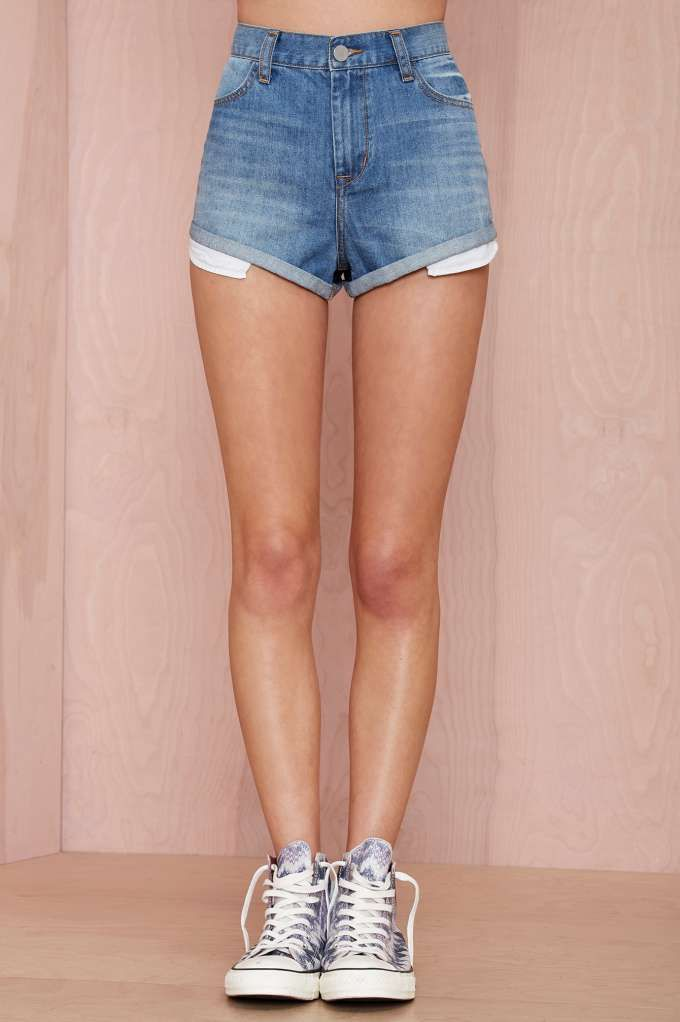 Something Milf denim shorts