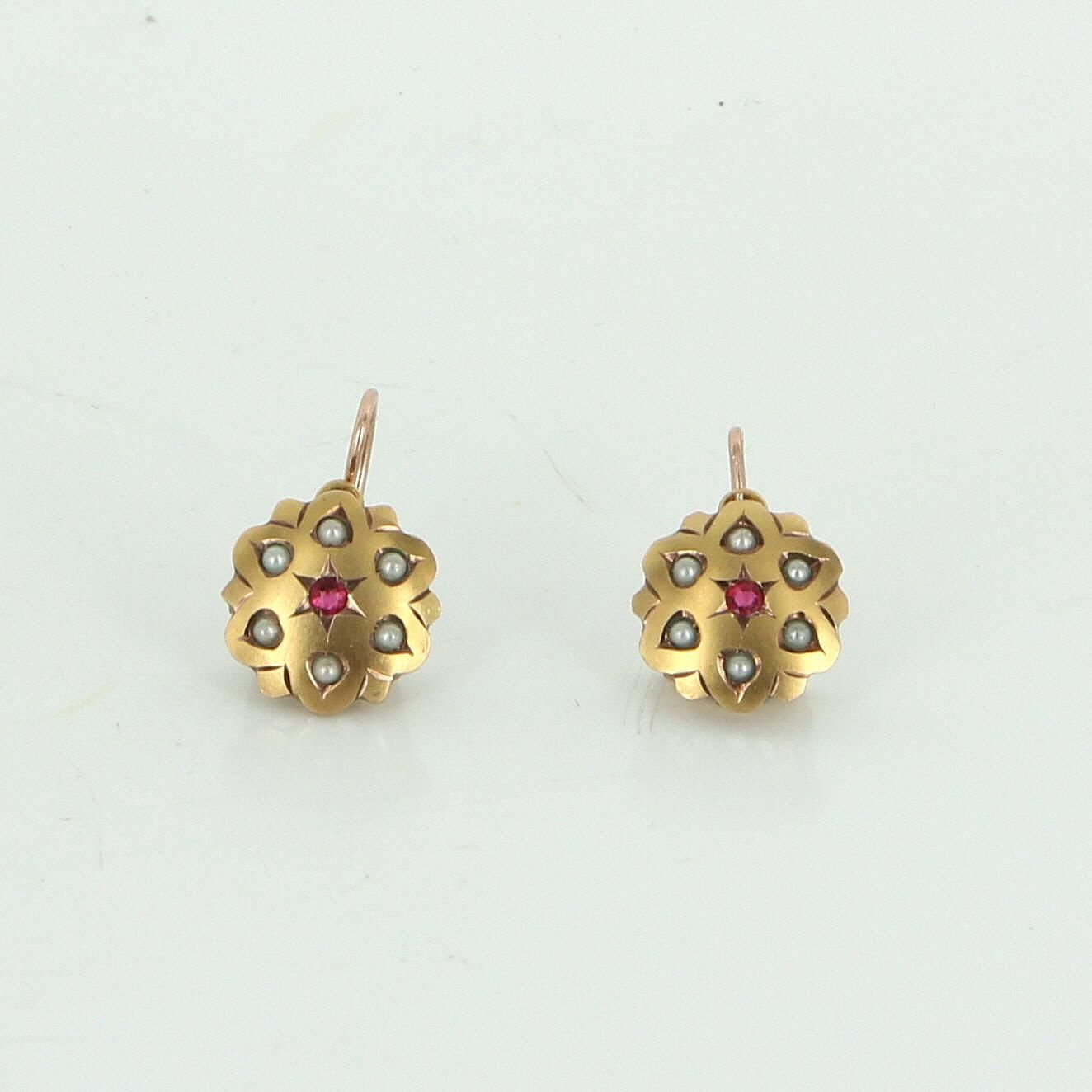 earrings glorious antique fetheray dangle victorian drop pinchbeck ornamental products gold