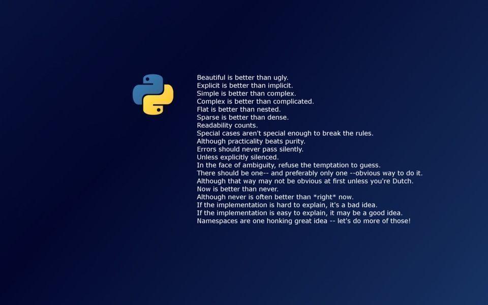 Python Programming Wallpaper | Python programming, Python