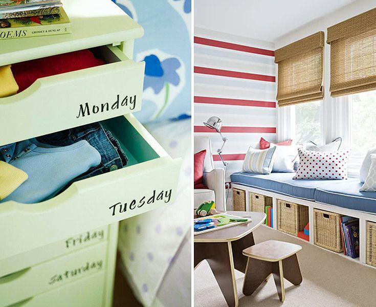 41 schlaue Ideen, wie Du die Zimmer Deiner Kinder toll organisieren