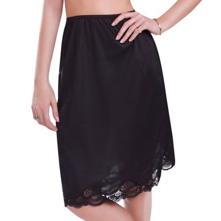 Ilusion women   lace half slip with slit walmart also best where to buy images in on vanity fair vintage rh pinterest