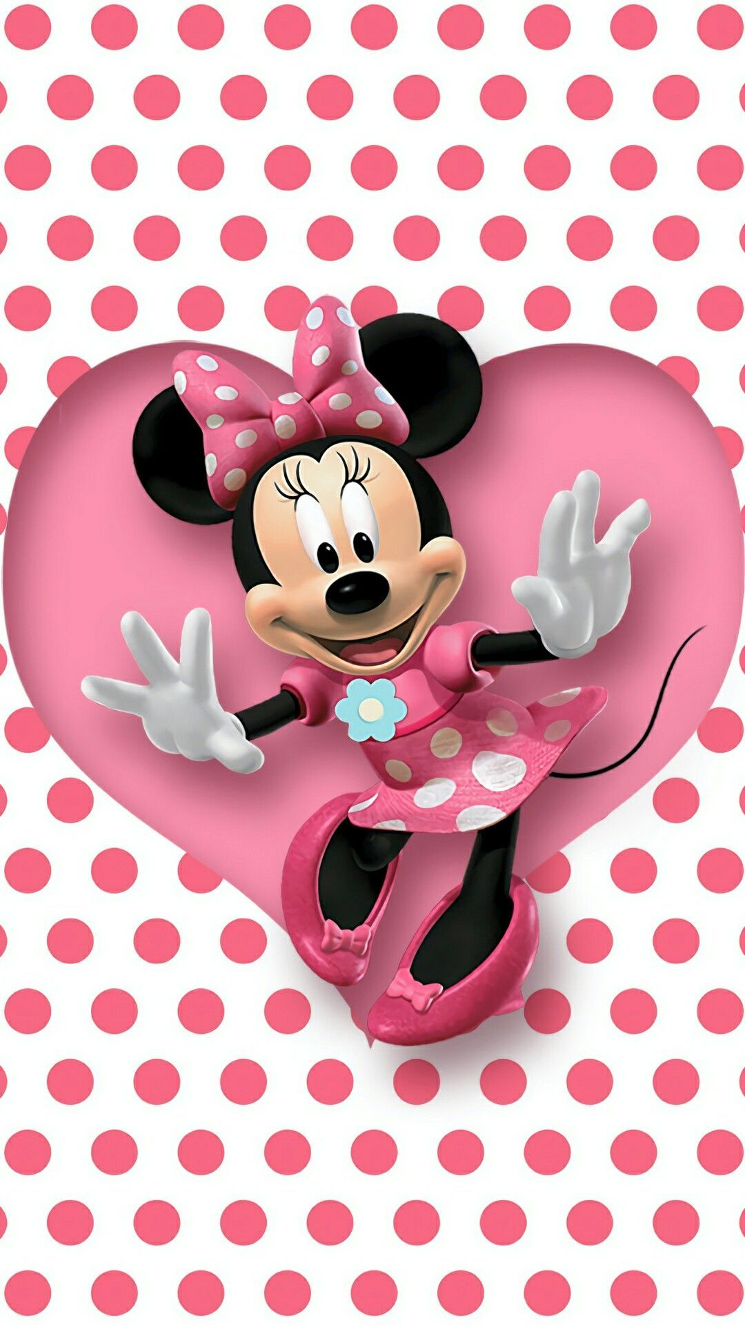 Polka Dot Minnie Mouse Image in 2020 (With images