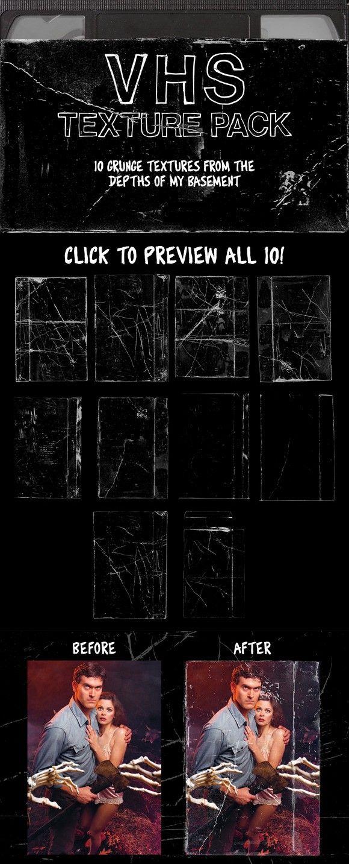 Vhs Texture Pack Texture Graphic Design Texture Packs Texture