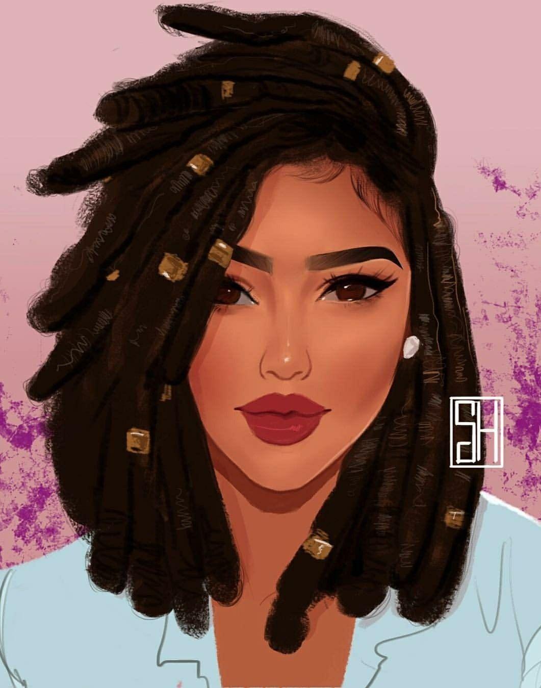 thats.so.jalynn©   Favs   Pinterest   Negro, Arte afro y Afro