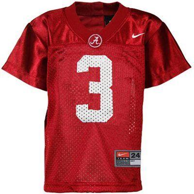 Nike Alabama Crimson Tide  3 Infant Replica Football Jersey - Crimson adaca0fcb