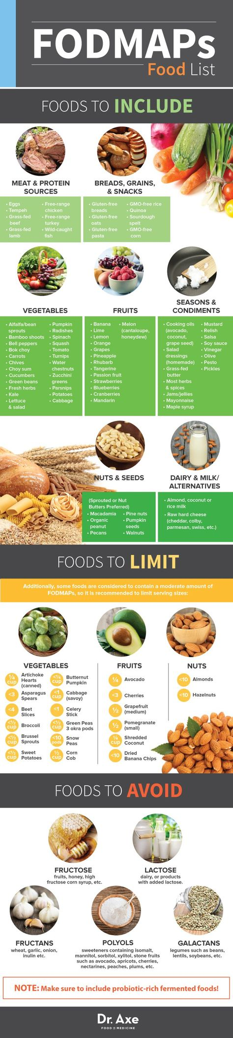 Foods to include