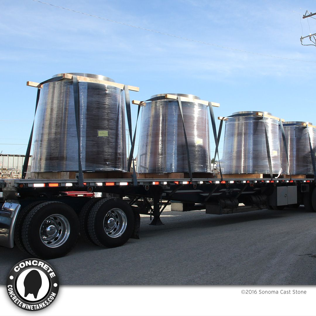 Concrete Conical Tanks / 700 to 1,080 gal  from Sonoma Cast