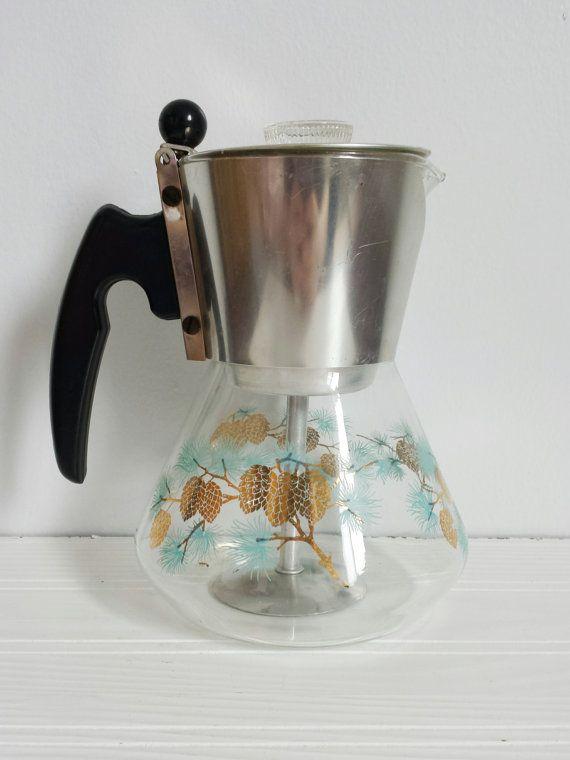 71bd946741042a2794646052f5d0fa3e vintage douglas percolator coffee pot 1960s 1960s, coffee and
