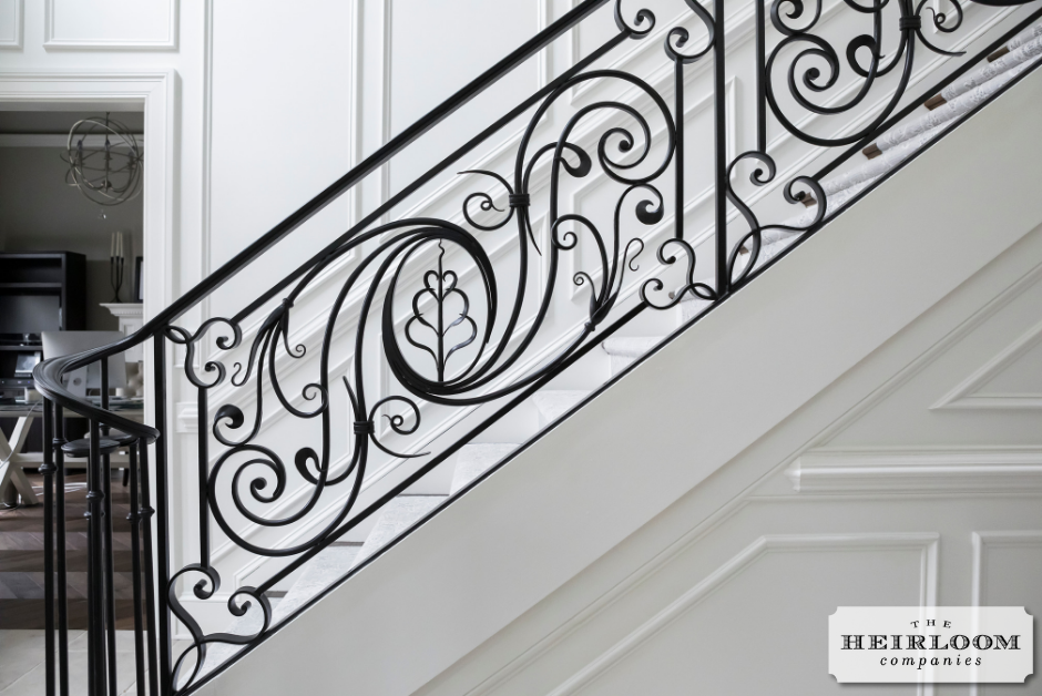 Custom Iron Staircase The Heirloom