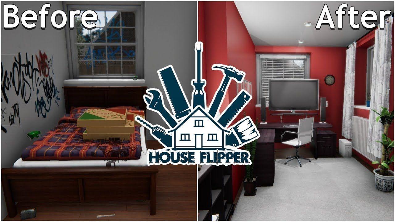 House Flipper Renovating The Connoisseur S House House Flipper Gameplay House Flippers Home House