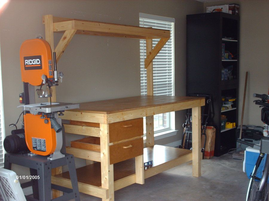 2x4 Work Bench By Cobra5 Lumberjocks Com Woodworking