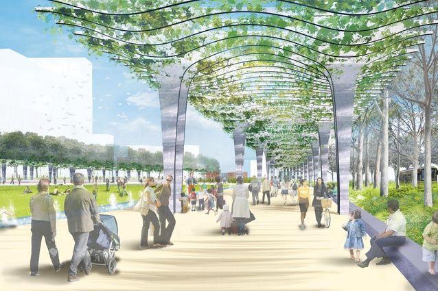 Urban landscape architecture projects urban regeneration for Urban home landscape design
