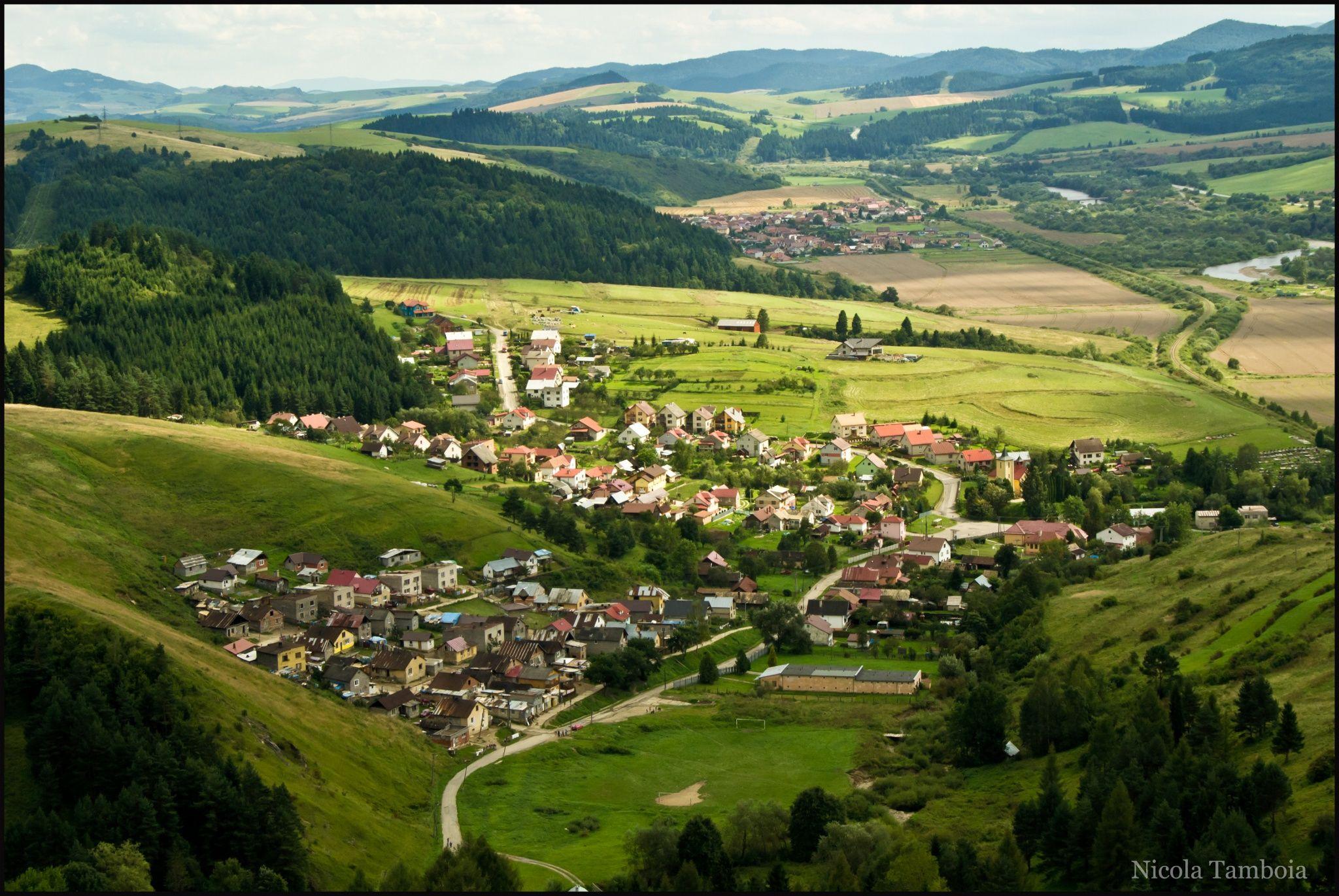 Fotografía vista de stara lubovna eslovaquia por nicola tamboia en