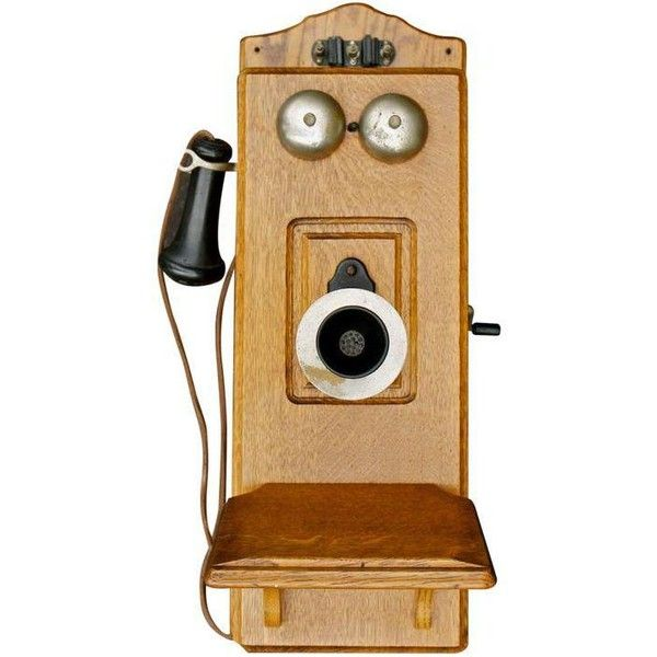 19th Century Vintage Kellogg Wall Phone (£505) ❤ liked on Polyvore ...