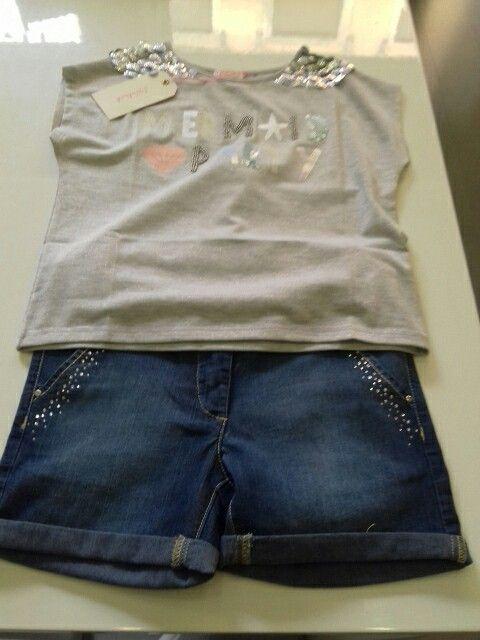 T _ shirt e Short junior girl