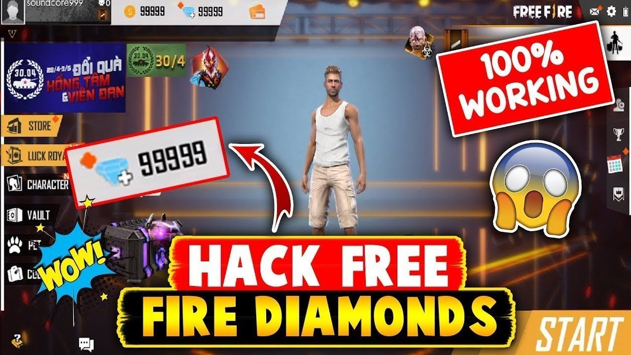 Pin on Free Fire Hack free diamonds and coins