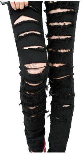 Black Punk Jeans