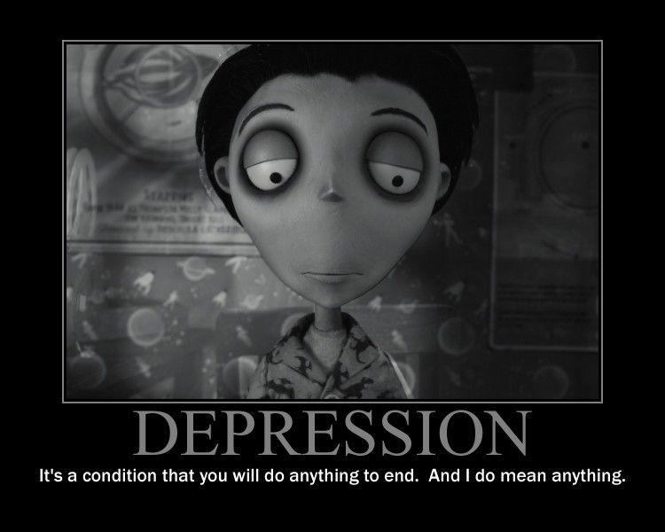 Depression Motivational Poster by QuantumInnovator.deviantart.com ...