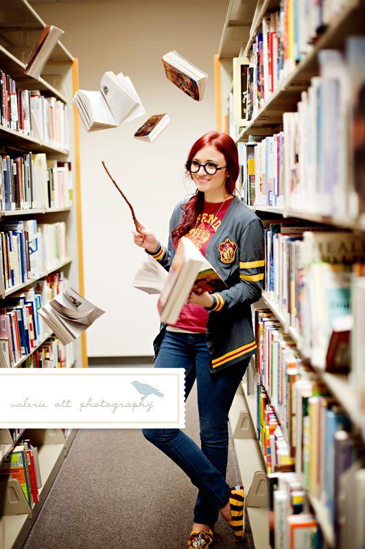 Calendar Theme Ideas Photoshoot : Harry potter themed senior session valerieott