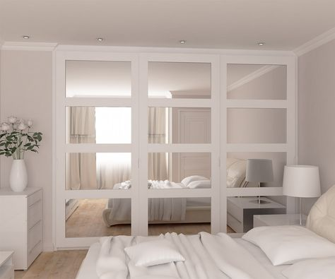 Vetro U2013 Framed Mirrored Doors Wardrobes Range. Ikea Sliding DoorIkea Closet  ...