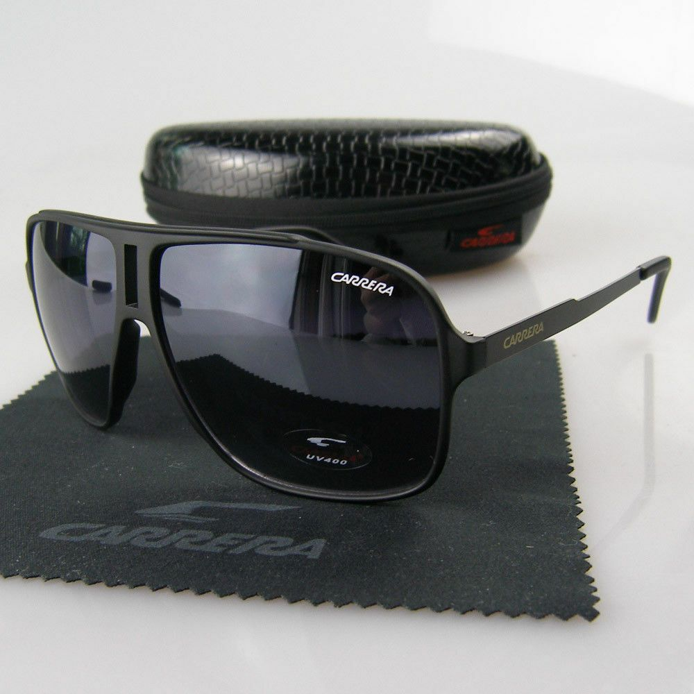 2019 Fashion Men /& Women/'s Retro Sunglasses Unisex Matte Frame Carrera Glasses