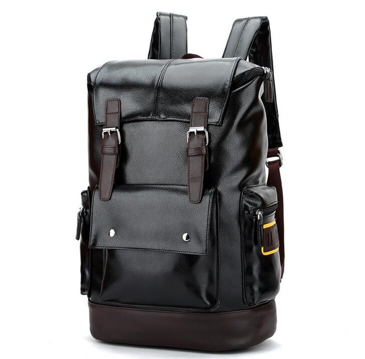 New Bag 062917 Mens Fashion High Capacity Backpack School Student Book Double Shoulder Affiliate