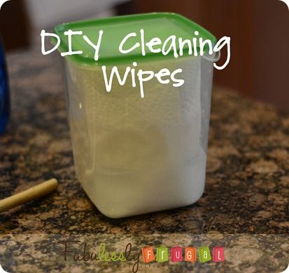 diy clorox wipes