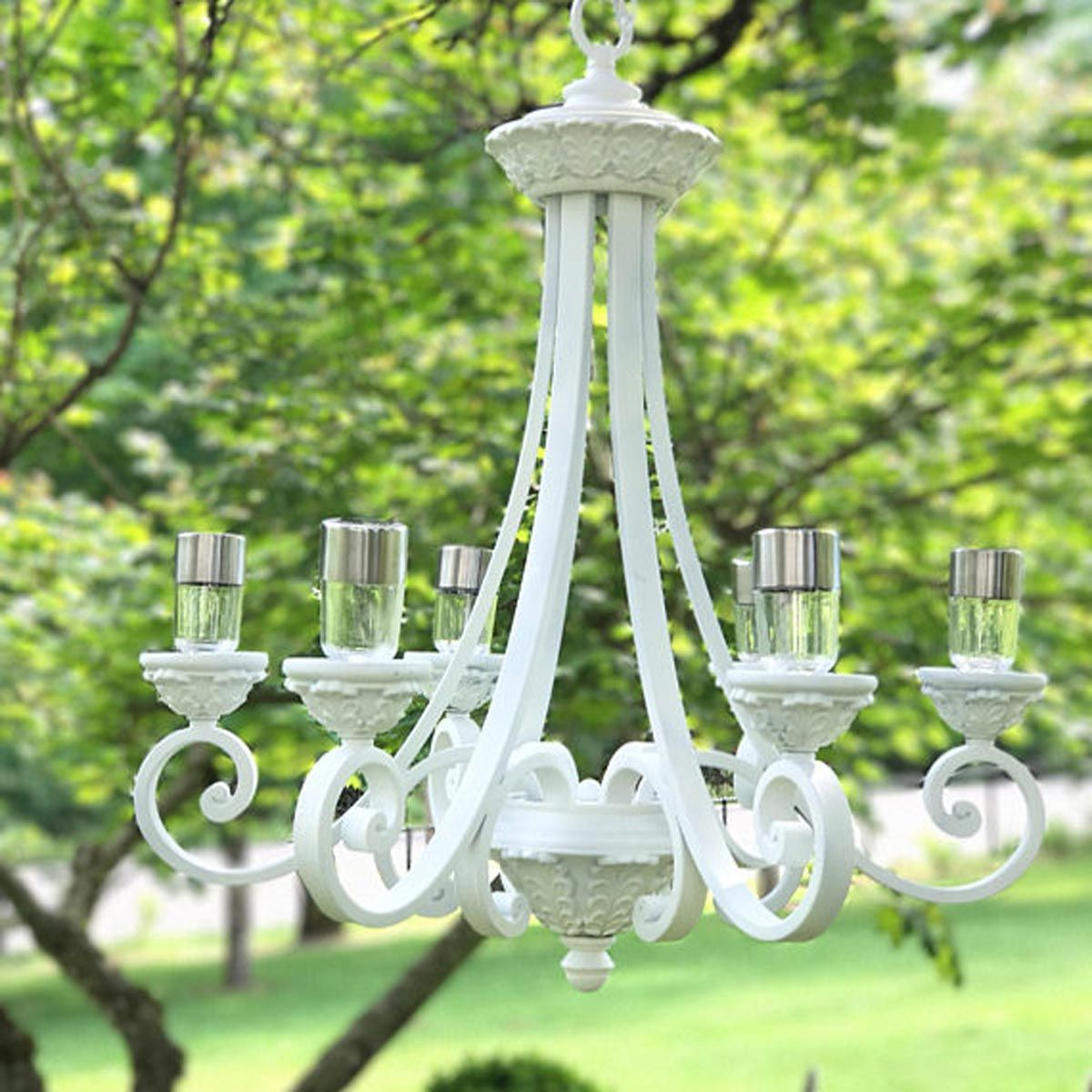 12 Solar Powered Landscape Lights You Haven T Seen Before Solar Chandelier Outdoor Chandelier Solar Light Chandelier