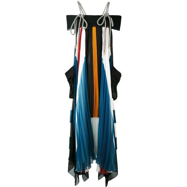 Chloé Rope Tie Dress ($7,445) Via Polyvore Featuring