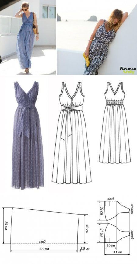 Long dress | Nähen | Pinterest | Nähmuster, Nähen und Selber machen