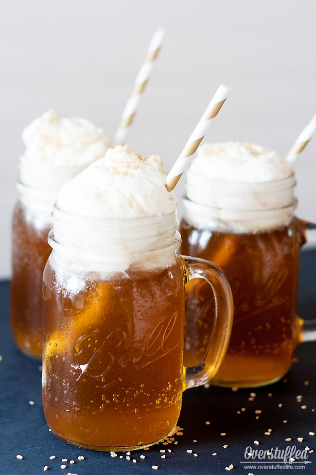 Harry potter book club ideas butterbeer recipe harry potter delicious harry potter butterbeer recipe easy to make overstuffedlife forumfinder Images
