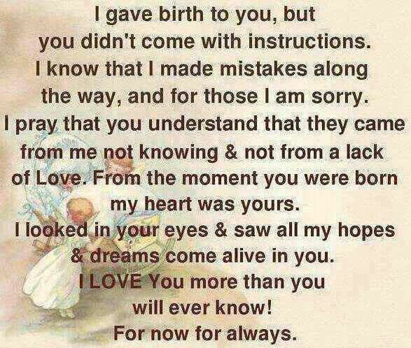 My Hopes Dreams My Most Beautiful Moments Mom Quotes Son