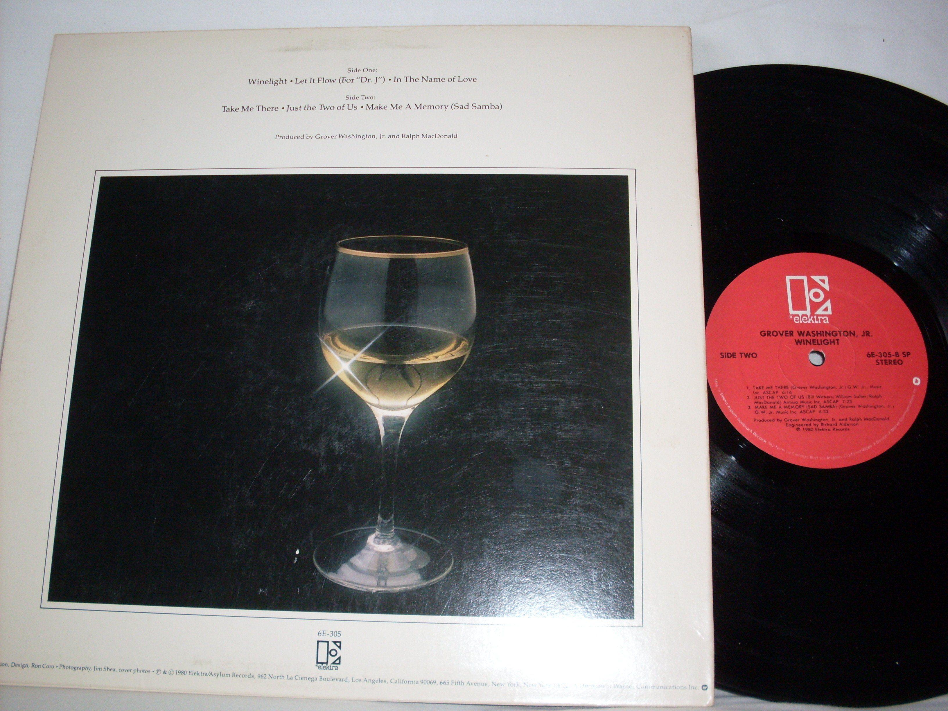 Grover Washington Jr Winelight Elecktra Records Lp