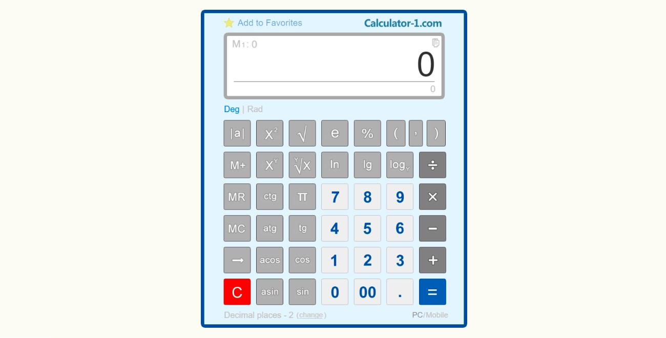Scientific Calculator Use Free Scientific Calculator To Make Simple And Complex Calculations Using Various Scientific Calculator Calculator Algebra Calculator