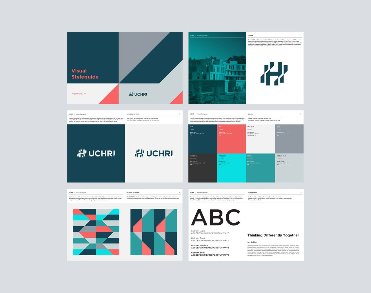 Uchri Visual Identity By Truf Visual Identity Visual Identity System Brand Book