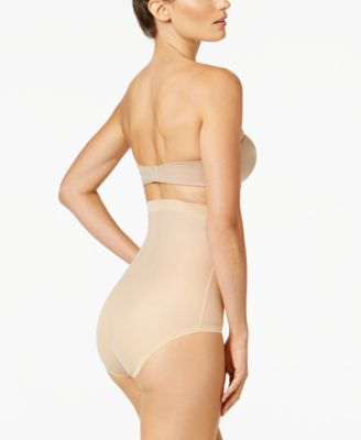 a797f30b80e91 Wolford Tulle Control High Waist Panty - Tan Beige 6