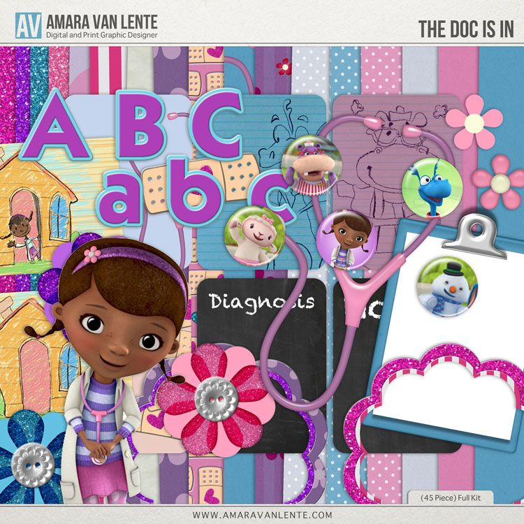 FREE The Doc Is In Full Kit by Amara Van Lente Designs [ require store check out ]   http://handcraftpinterest.blogspot.com/