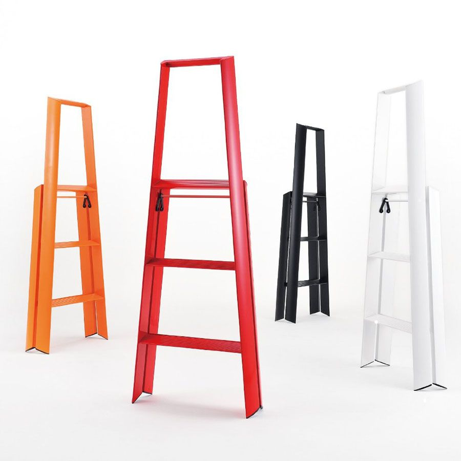Lightweight Folding 3 Step Aluminum Step Stool Ladder Stool Step Ladders 3 Step Ladder Ladder